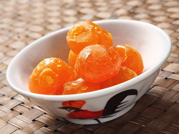 rustic  chinese golden salted egg yolk - yumurta sarısı stok fotoğraflar ve resimler