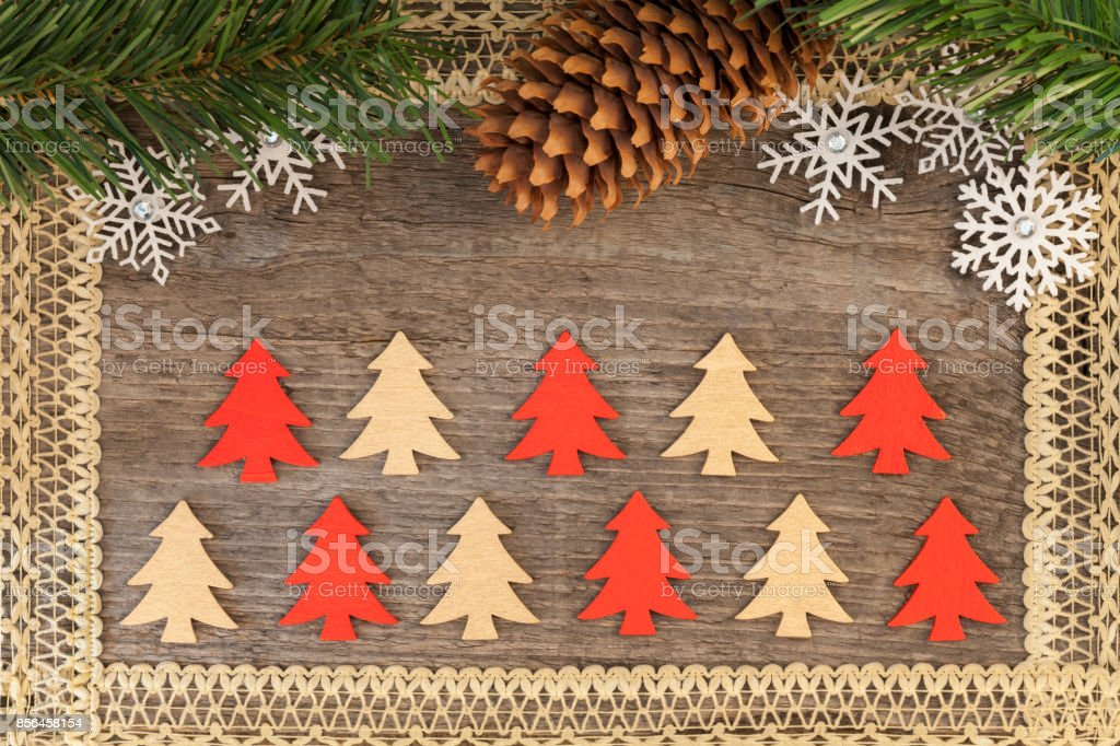 rustic christmas background royalty free stock photo - Rustic Christmas Background