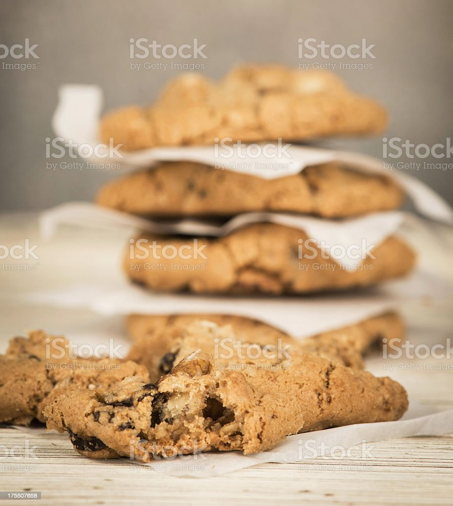 Rustic Cookies stock photo