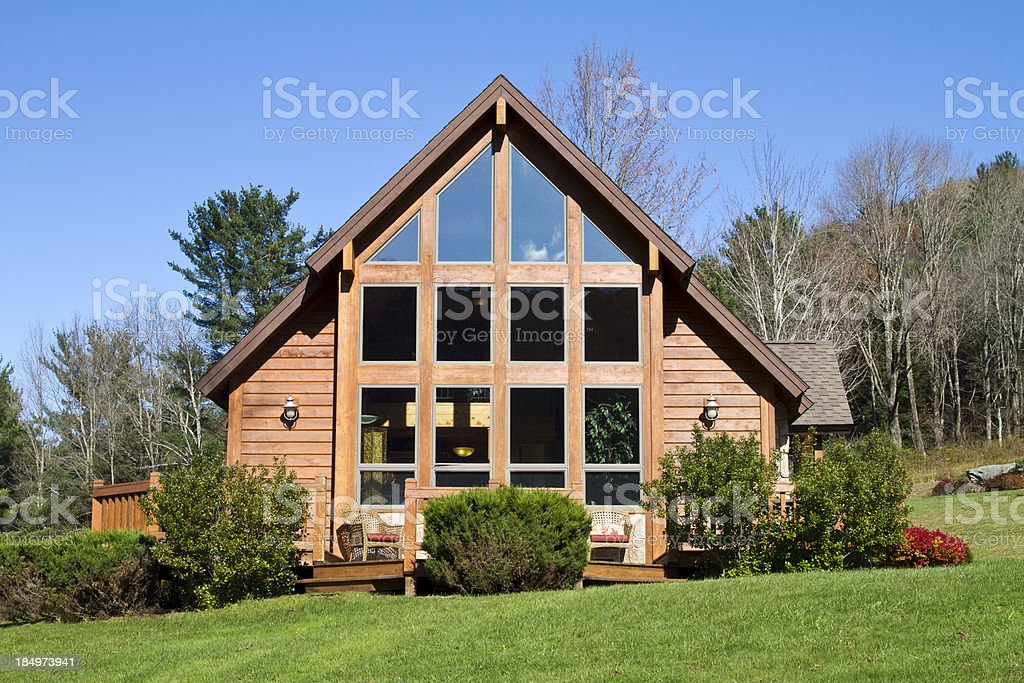 Rustic Country Home royalty-free stock photo