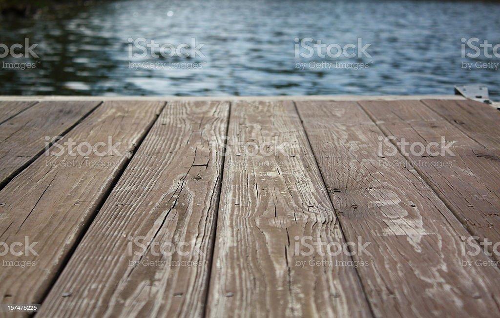 Rustic Dock royalty-free stock photo