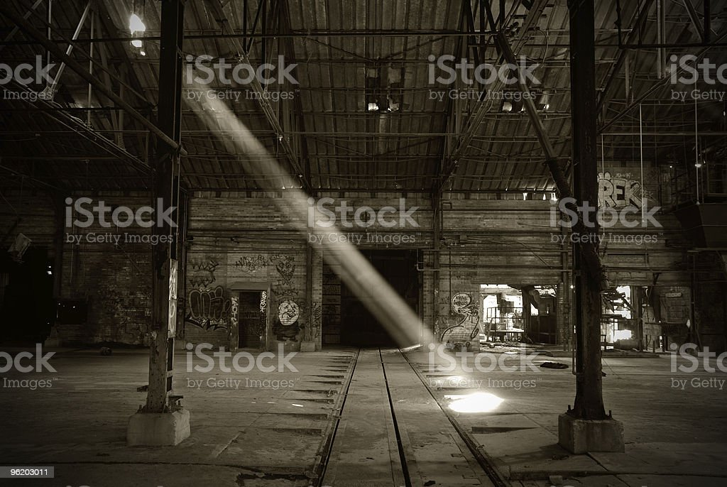 Rustic Factory stock photo