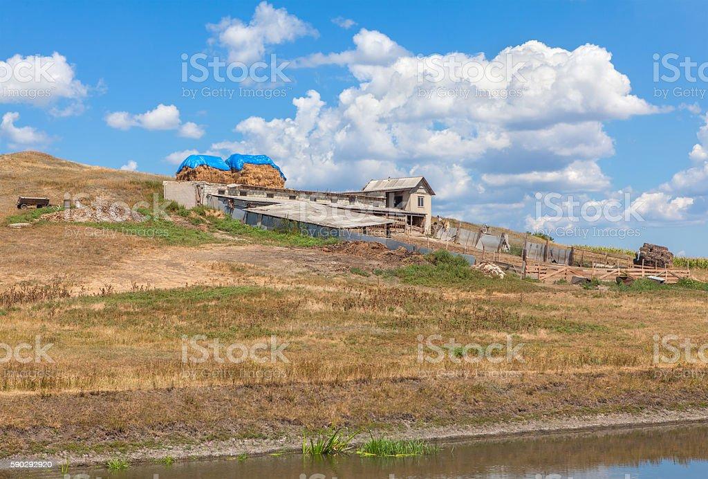 rustic farm Стоковые фото Стоковая фотография