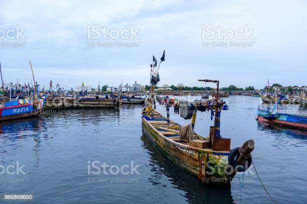 Rustikale Fischerboot Sekondi Stockfoto und mehr Bilder von Afrika