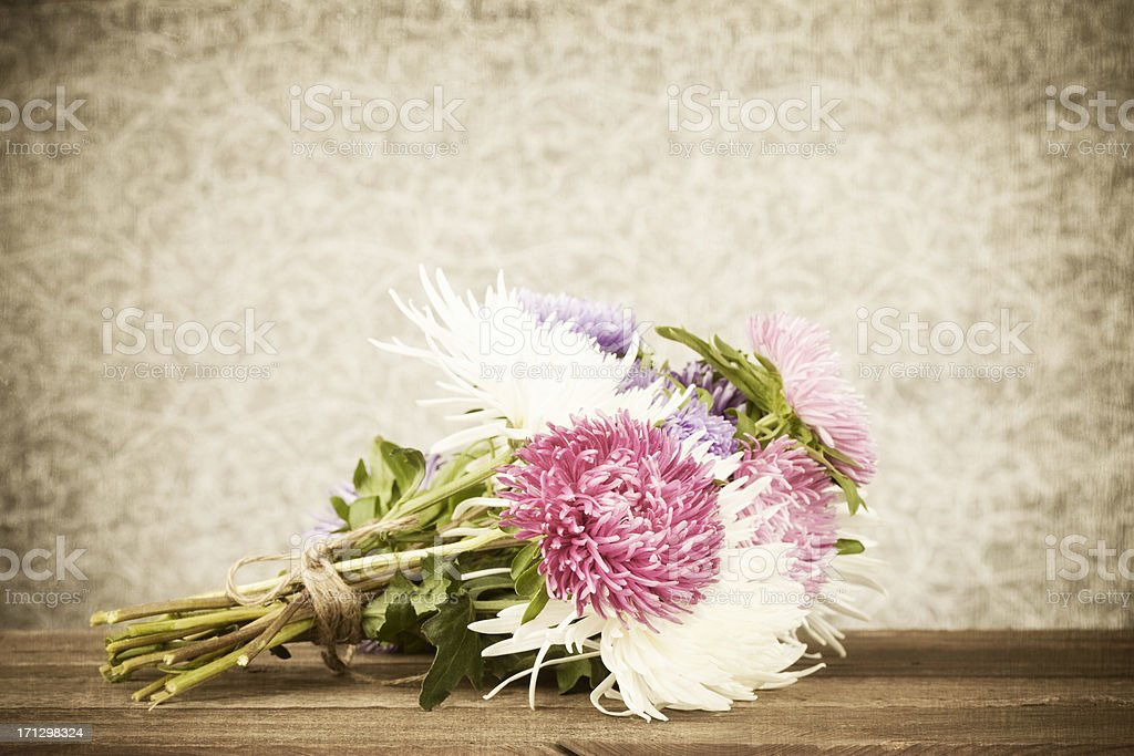 Rustic Flower Bouquet Royalty Free Stock Photo