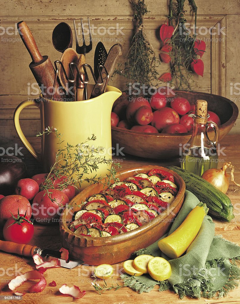 rustic food royalty-free stock photo