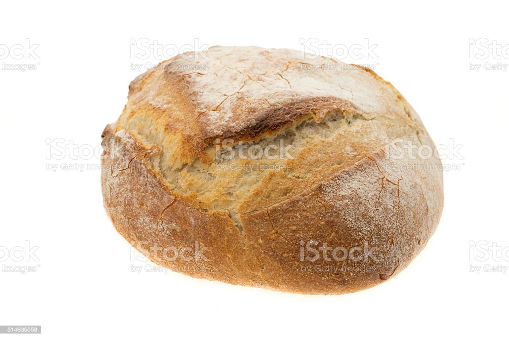 Rustic French bread stock photo