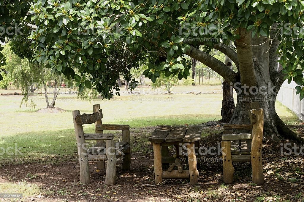 Rustic Furniture royalty-free stock photo