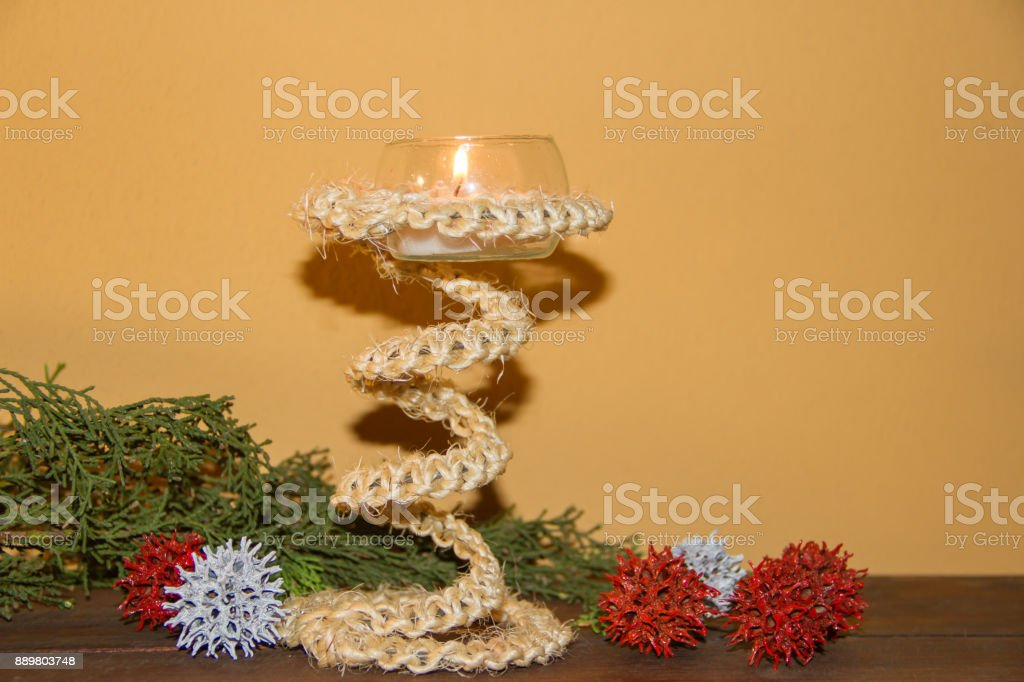 Rustic Handmade Candlesticks Made With Recycled Materials