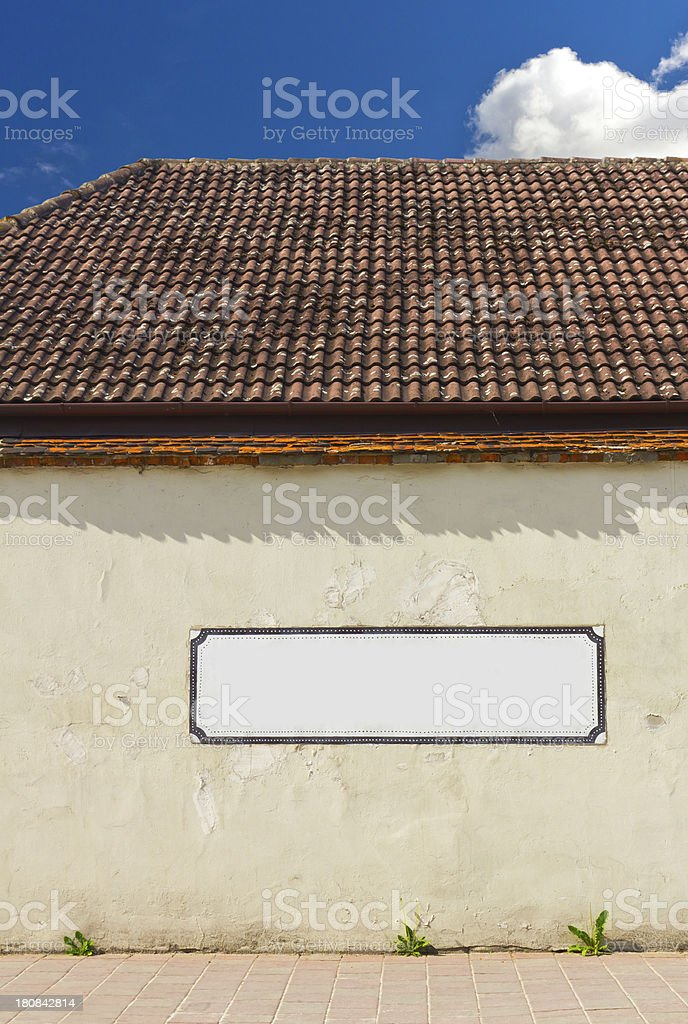 Rustic house royalty-free stock photo