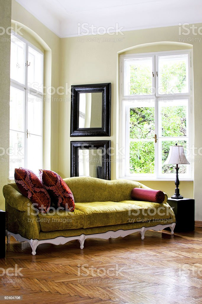 Rustic interior royalty-free stock photo