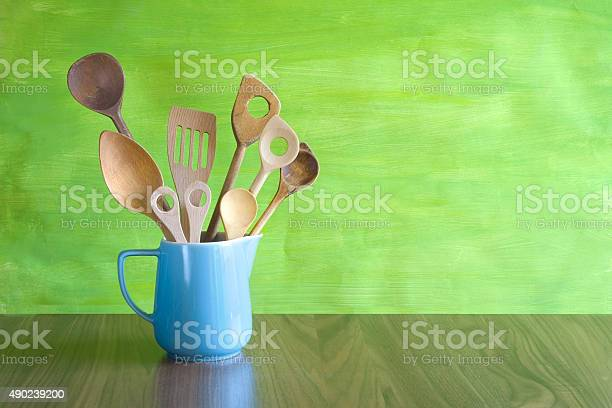Free kitchen spoon images and stock photos for Antique kitchen utensils identification