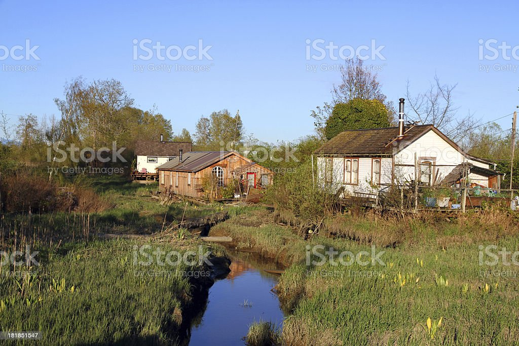 Rustic Living royalty-free stock photo