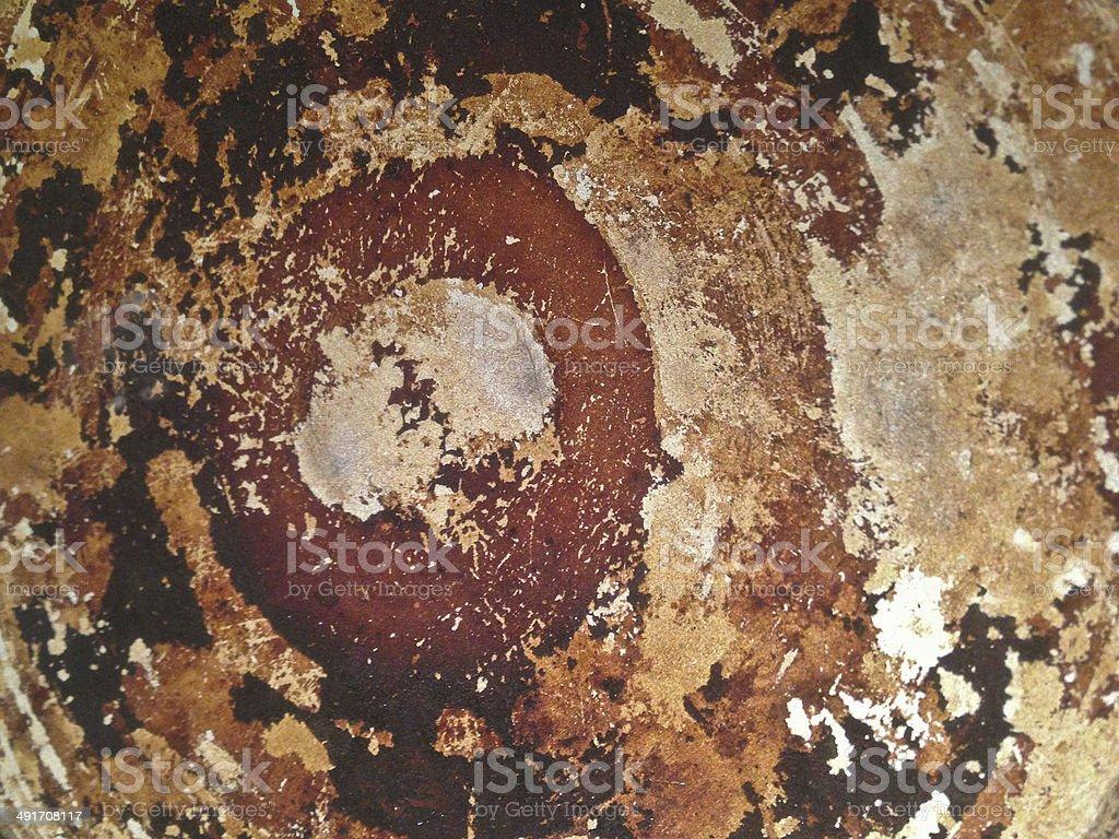 Rustic Metal Sheet Wallpaper Background Royalty Free Stock Photo