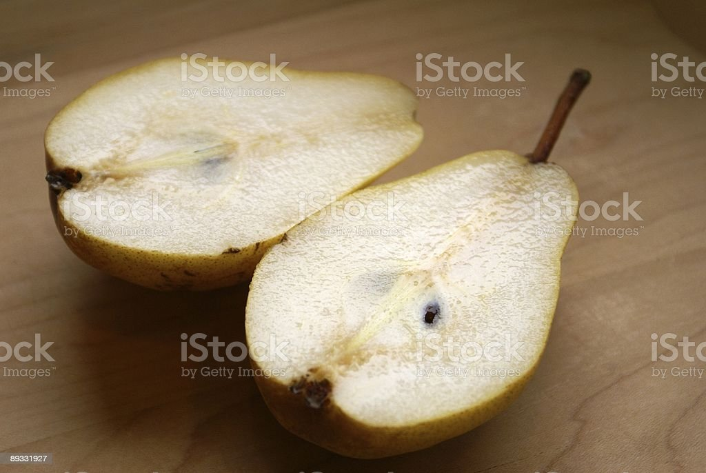 Rustic Pear royalty-free stock photo