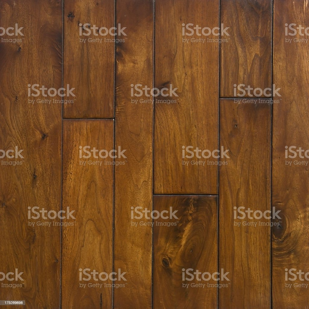Rustic Redwood Hardwood Flooring Background royalty-free stock photo