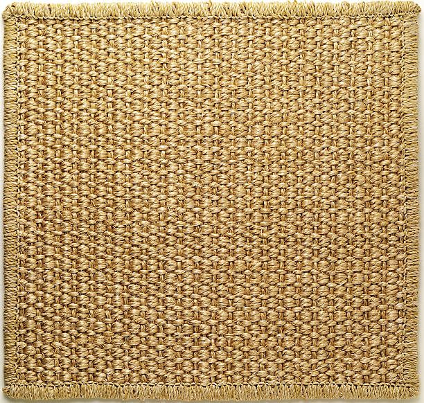 rustic rug - sisal stock pictures, royalty-free photos & images