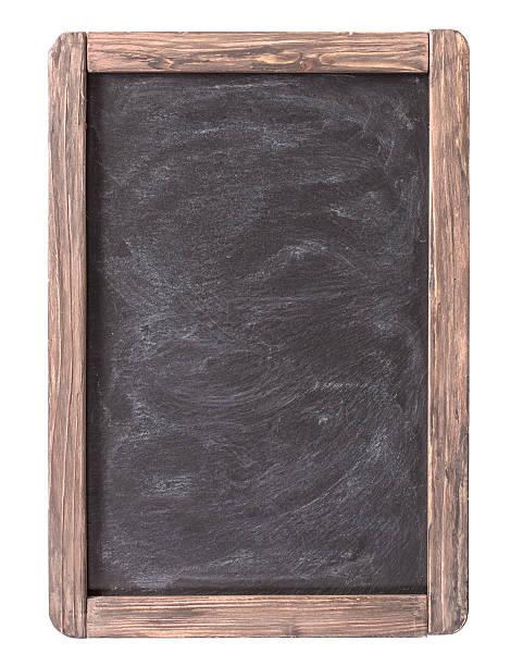 Cтоковое фото Деревенский синевато-меню Доска изолированные