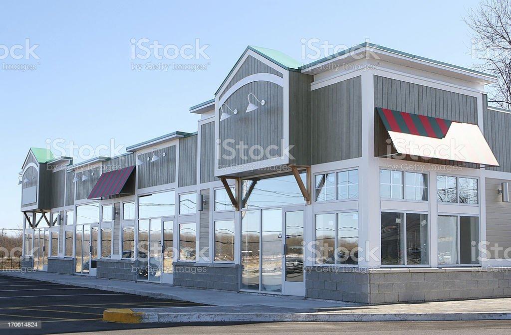 Rustic Store Building Facade stock photo
