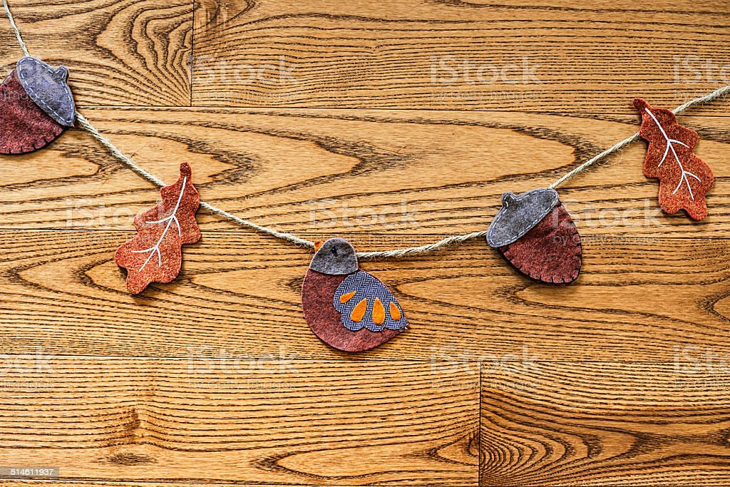 Rustic Thanksgiving Background Royalty Free Stock Photo