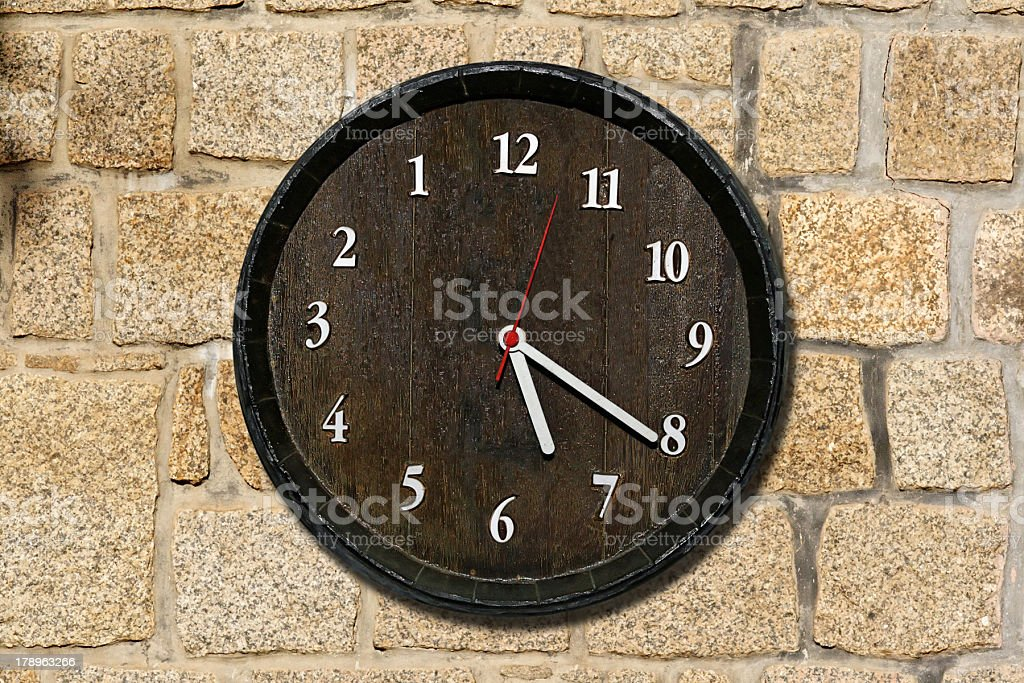 Rustic time stock photo