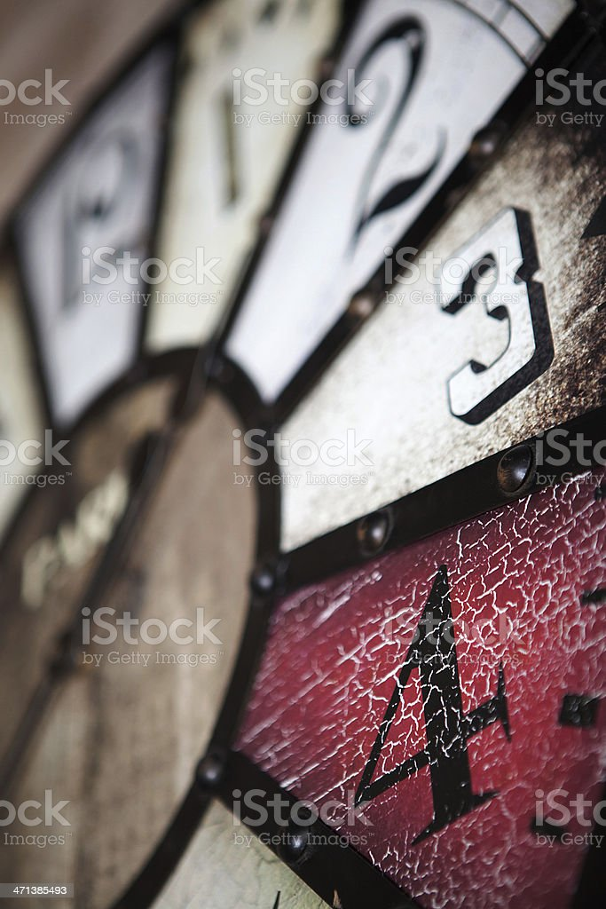 Rustic watch royalty-free stock photo