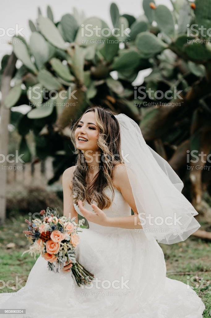 Rustic wedding bouquet - Royalty-free Adult Stock Photo