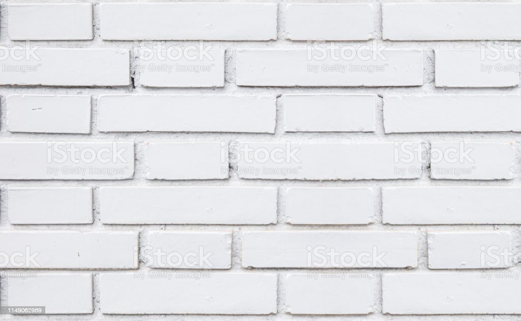 Rustic White Brick Wall Seamless Texture Stock Photo Download Image Now Istock