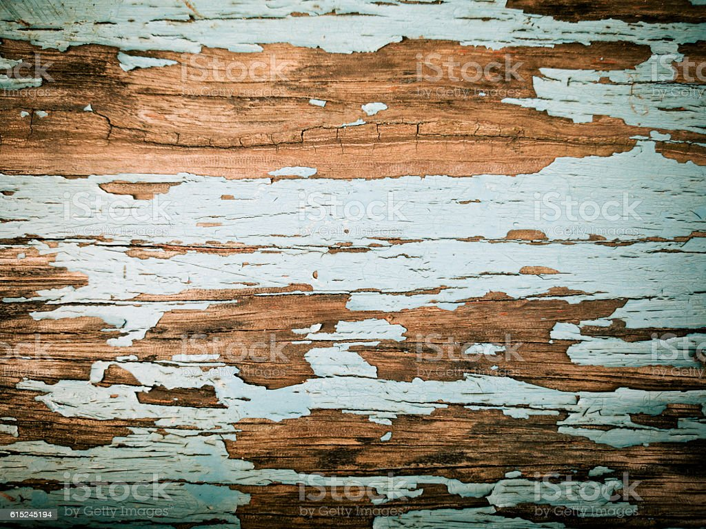 rustic wood background with old color stock photo