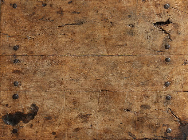 rustic wood surface - wild west stock photos and pictures