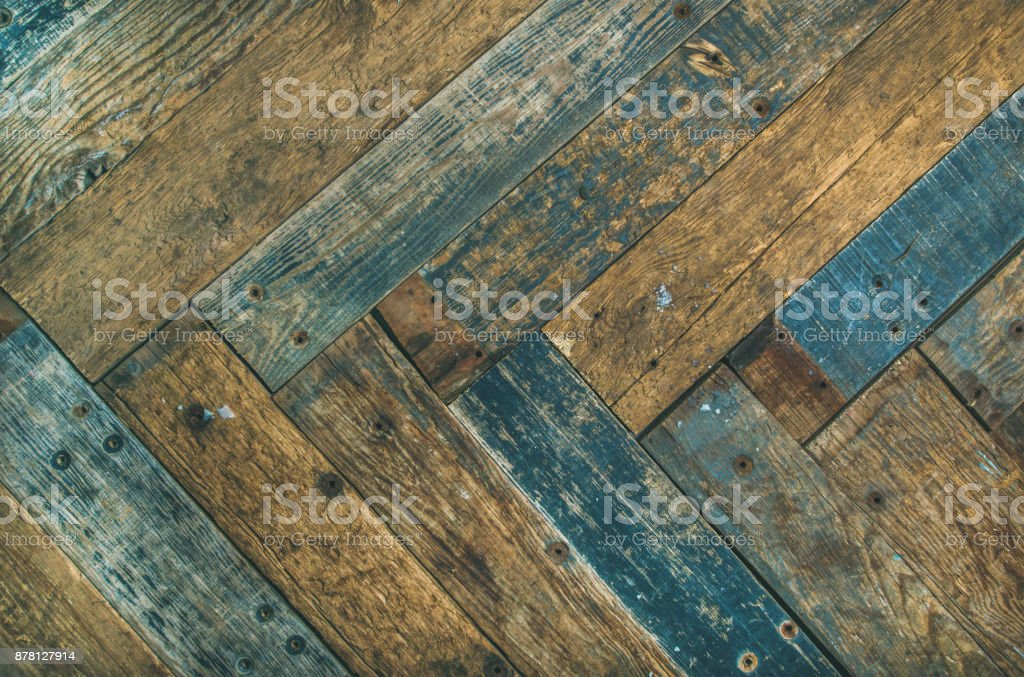 Rustic wooden barn door, wall or table texture stock photo