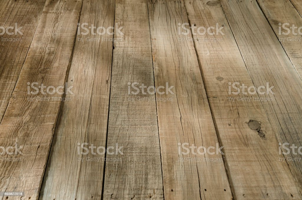 Rustic wooden floorboard - Royalty-free Backgrounds Stock Photo