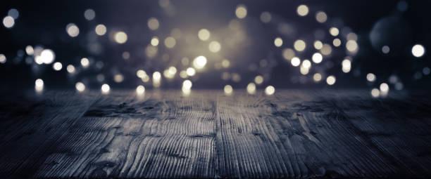 mesa de madeira rústica - eventos de gala - fotografias e filmes do acervo