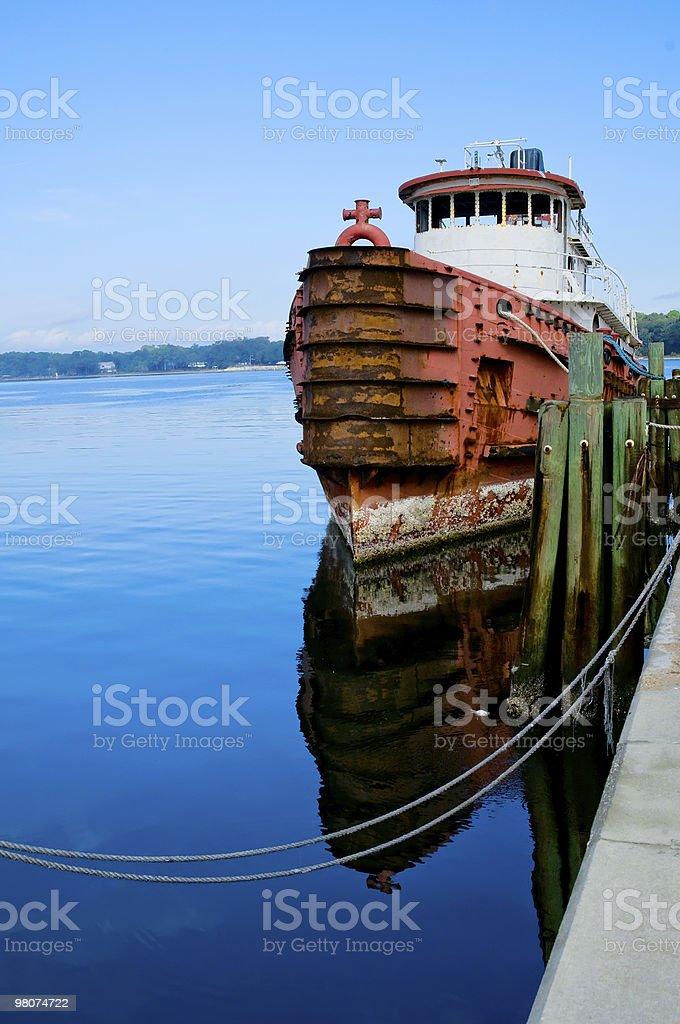 Ruggine barca foto stock royalty-free