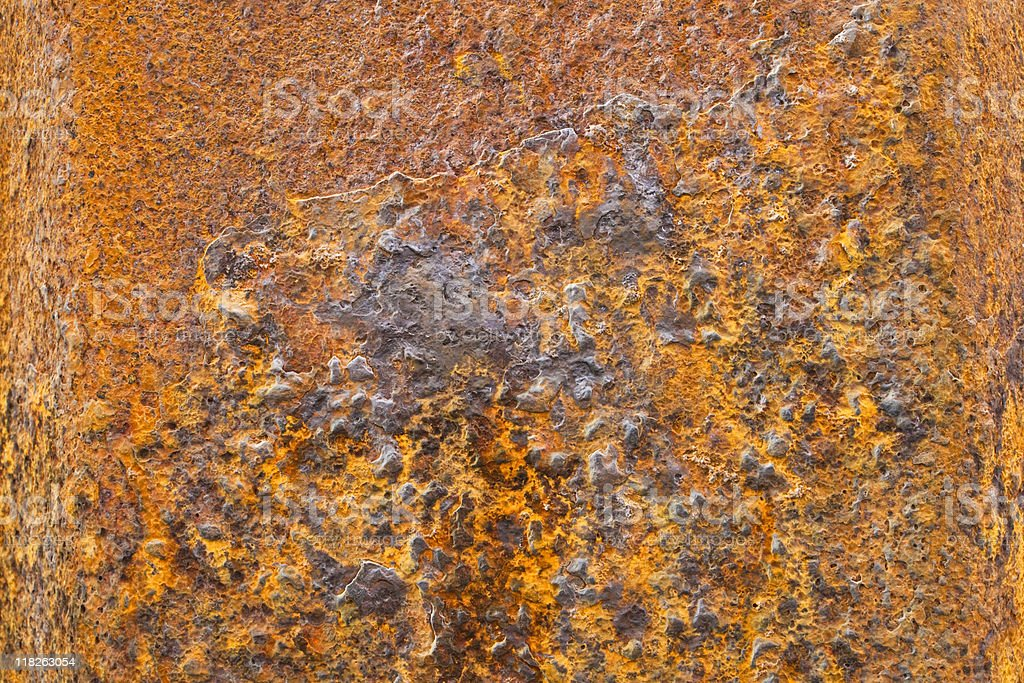 rusting metal background royalty-free stock photo