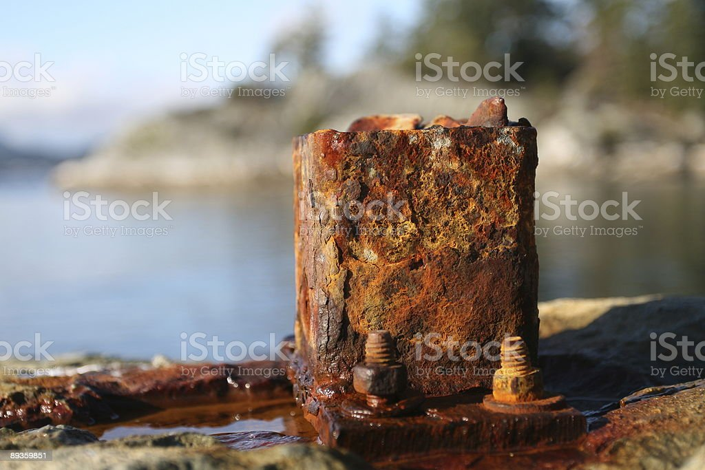 Rusting royalty free stockfoto