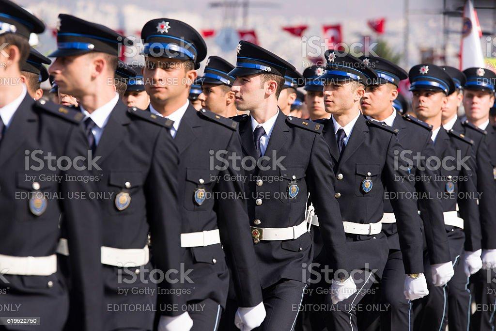 Rustu unsal police academy students. foto