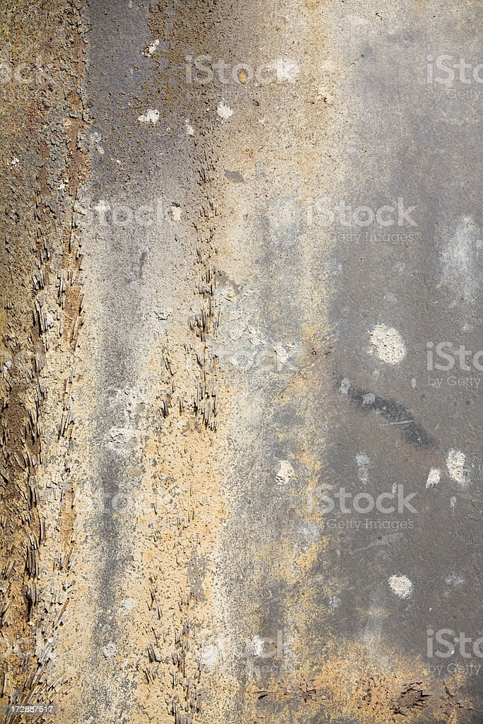 Rusty background, earth tones and texture royalty-free stock photo
