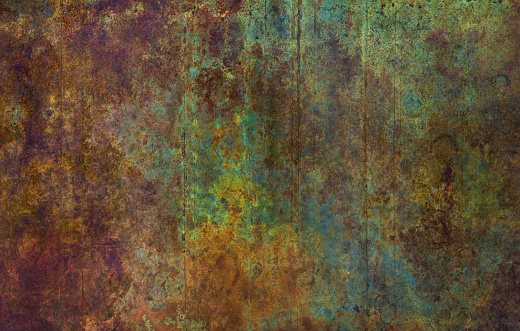 Colorful Rusty Background