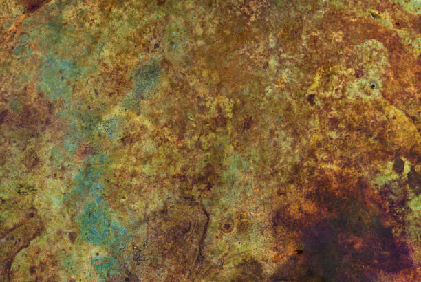rusty hintergrund - patina farbe stock-fotos und bilder