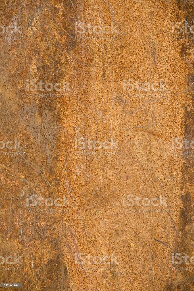 Rusty background, with lighter copy space royalty-free stock photo