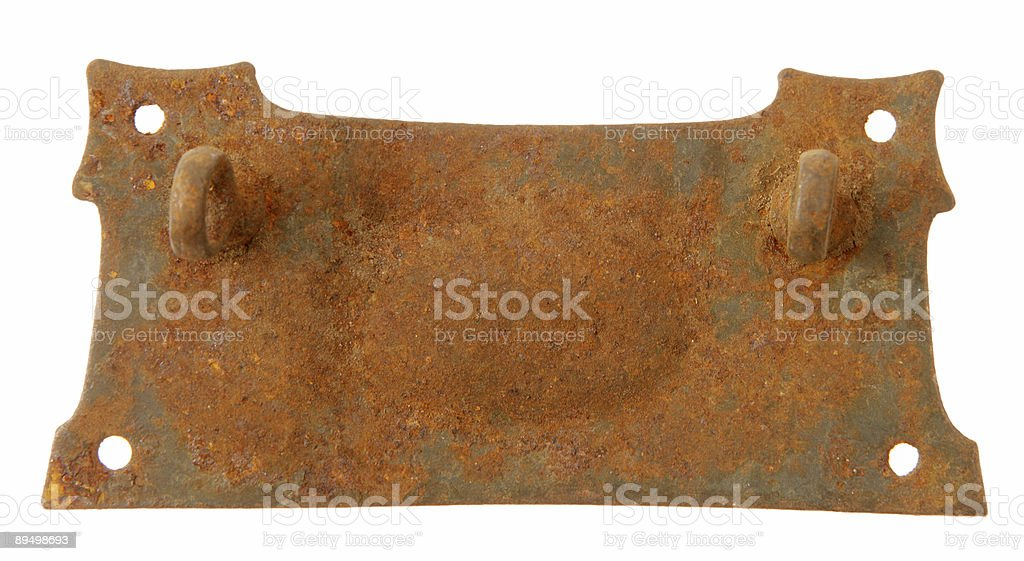 Rusty Bit royalty free stockfoto