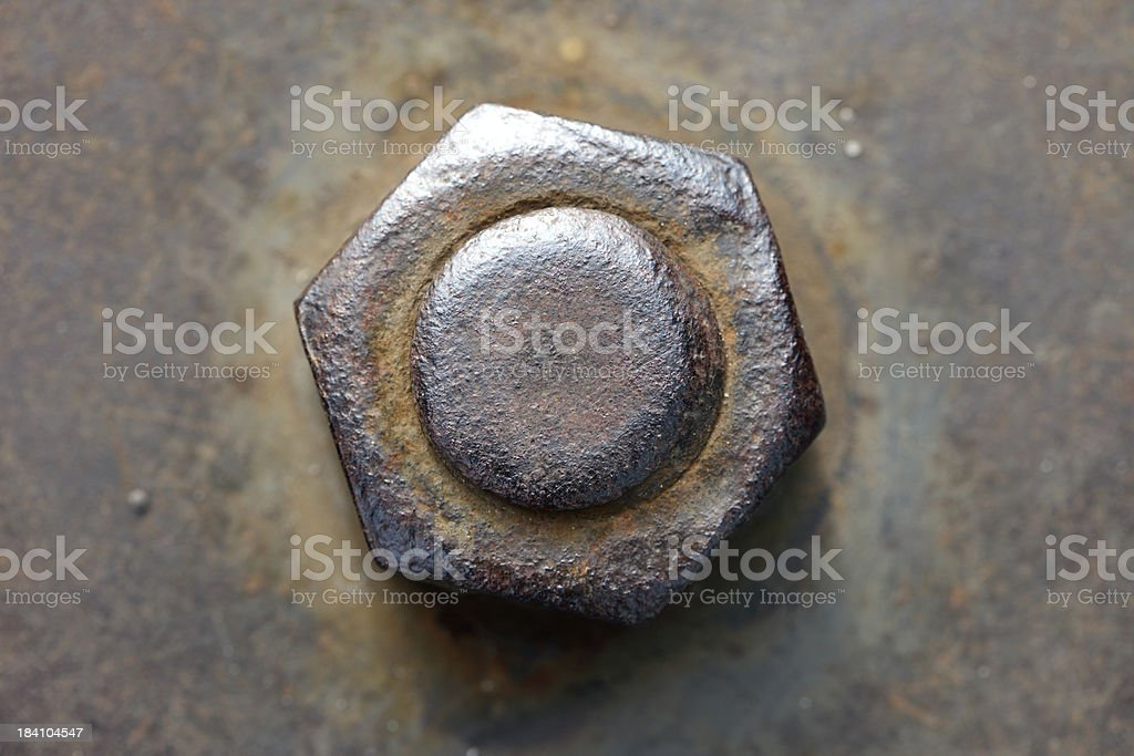 Rusty Bolt stock photo