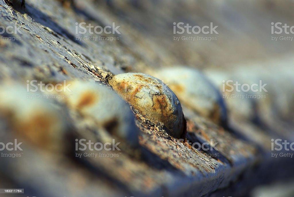 Rusty Bolts stock photo
