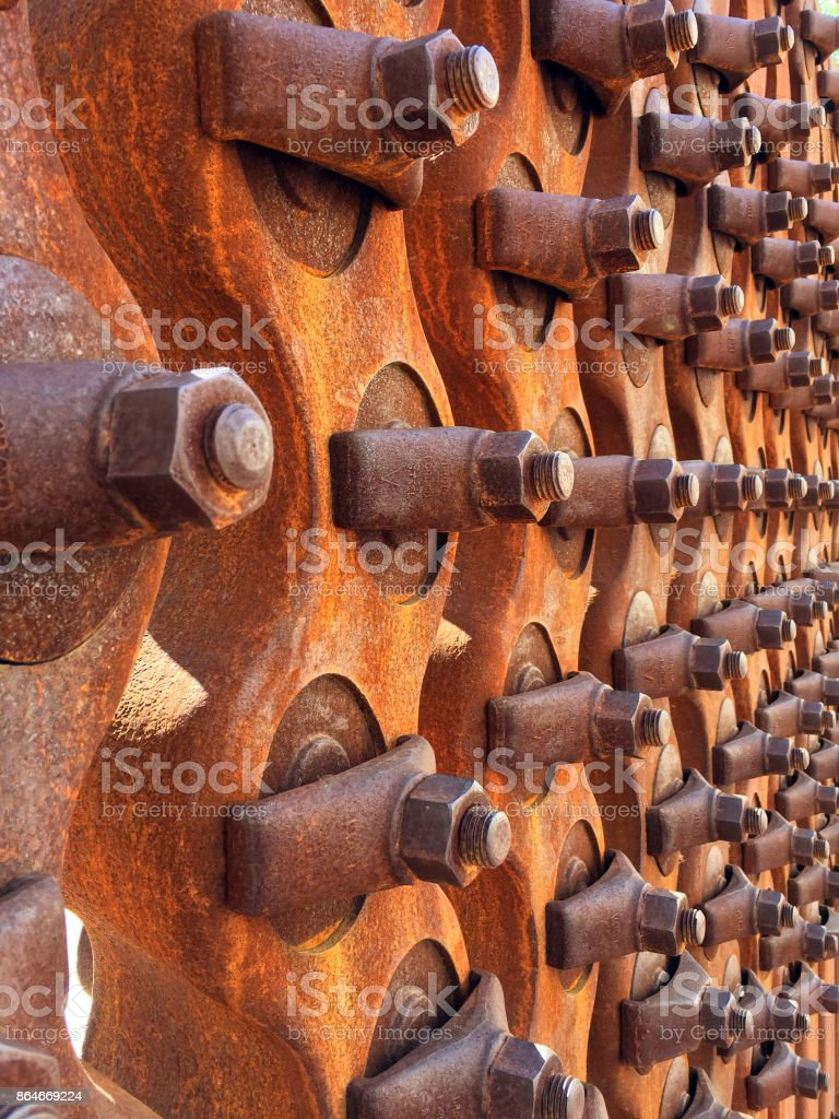 Rusty Bolts stock photo