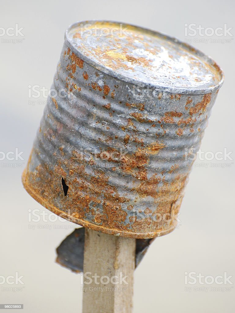 Rusty Can royalty-free stock photo