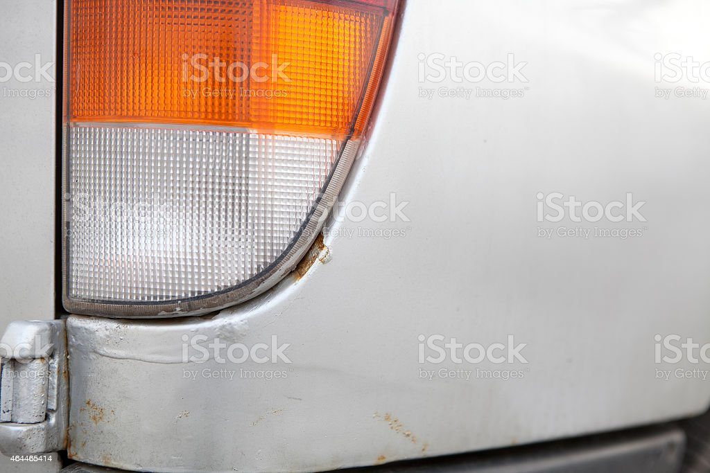 rusty car, corrosion stock photo