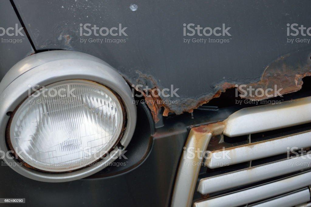 Rusty de automóviles  foto de stock libre de derechos