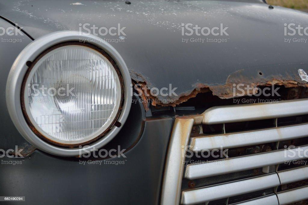Rusty Auto  Lizenzfreies stock-foto