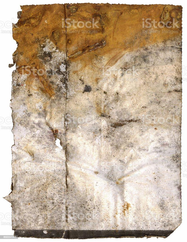 rusty cardboard royalty-free stock photo
